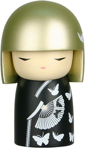 """Kimmidoll™ Konomi - 'Success' - """"My spirit is purposeful and meaningful. The power of my spirit is released when you define, in your own particular way, what it means to succeed. By striving toward your own goals and ideals, you pursue what holds meaning and purpose for you. May your vision of success be an inspiration and bring you fulfilment in all areas of your life."""""""