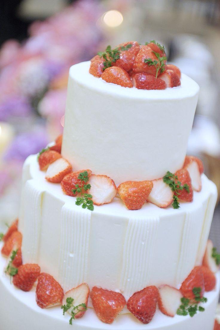 ウエディングケーキ♡