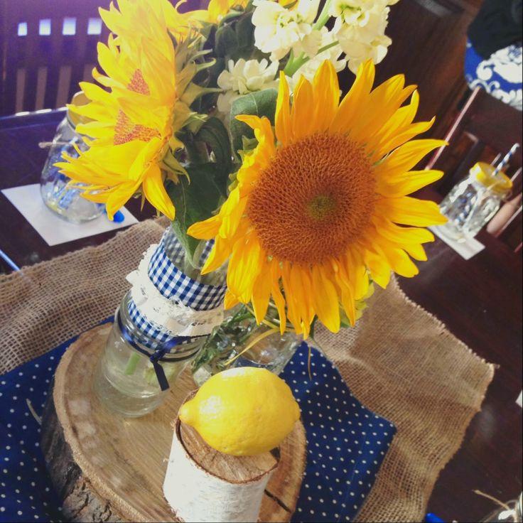 Rustic Sunflower Bridal Shower