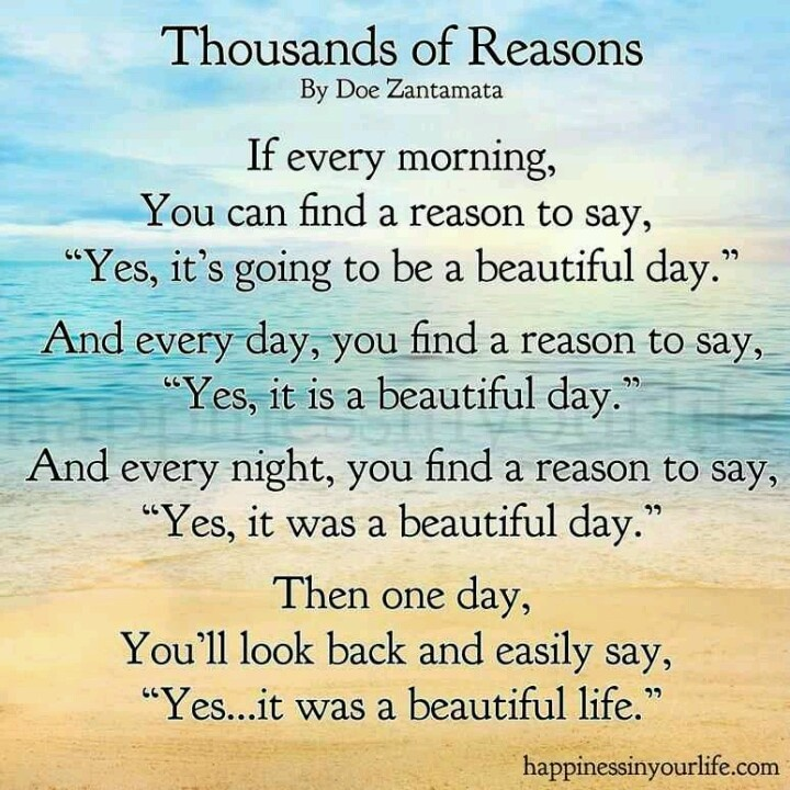 Motivational Poem About Love: Thousands Of Reasons Inspirational Poem