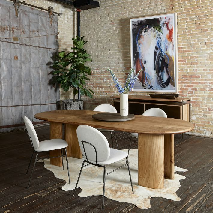 36++ West elm dining table with leaf Ideas