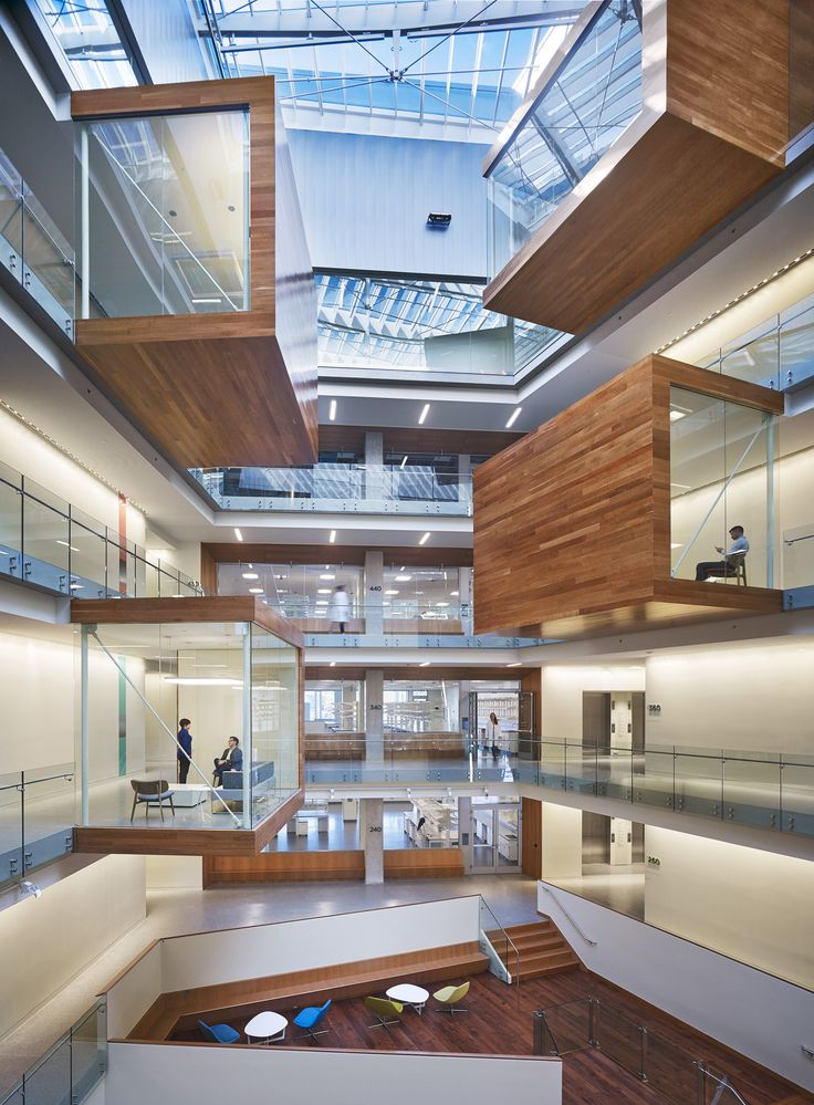 Image 1 of 17 from gallery of Allen Institute / Perkins+Will. Photograph by Hedrich Blessing