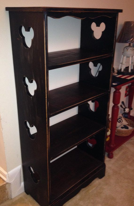 Refurbished Distressed Mickey Shelf