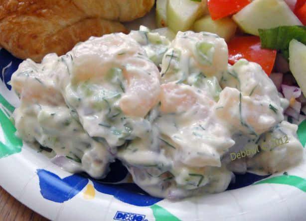 ina gartens old fashioned salad - Ina Garten Shrimp Salad Recipe