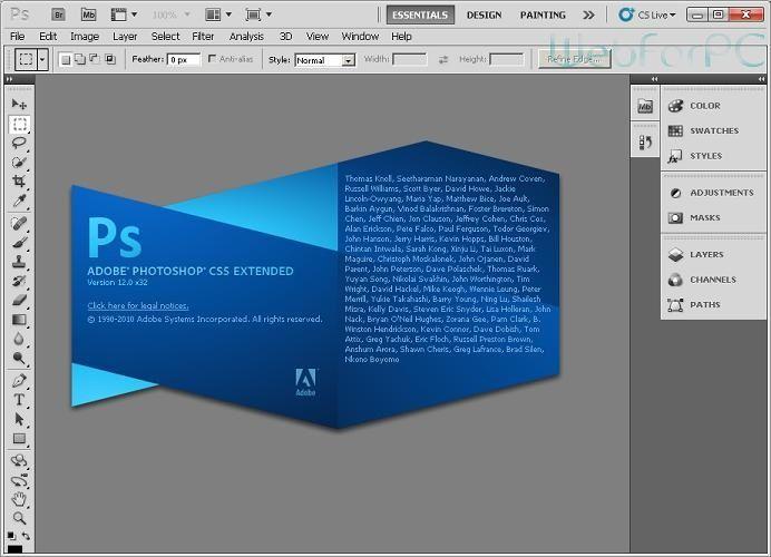 تحميل برنامج فوتوشوب عربى بحجم صغير Photoshop cs5 - https://www.arabwebpage.com/photoshop-arab-small-size/ - تحميل برنامج فوتوشوب عربى بحجم صغير Photoshop cs5 , برنامج الفوتوشوب هو من اهم البرامج التى يستخدمها المحترفون و المبتدئين على حد سواء نظرا لاهميتة الكبيرة للجميع فيحتاجة المحترفون المتخصصون ف
