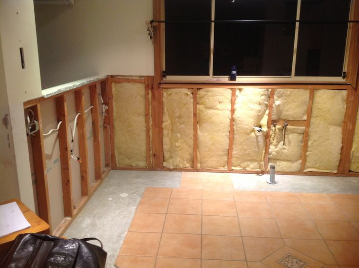 Old kitchen removed