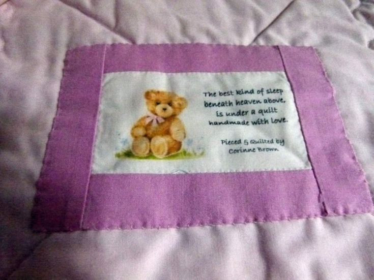 17 Best Ideas About Baby Sayings On Pinterest: 17 Best Images About Quilt Label Ideas On Pinterest
