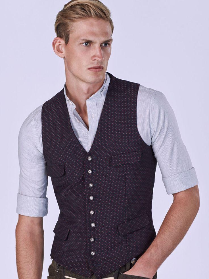 Dezent gestreiftes Trachtenhemd – LENZ 593 von Gottseidank bei Limberry