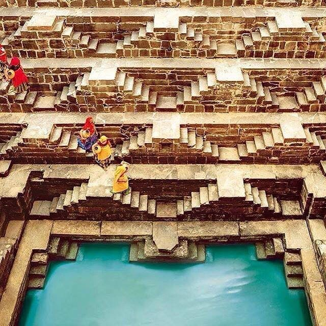Chand Baori , Jaipur.                                                                                                                                                                                 More
