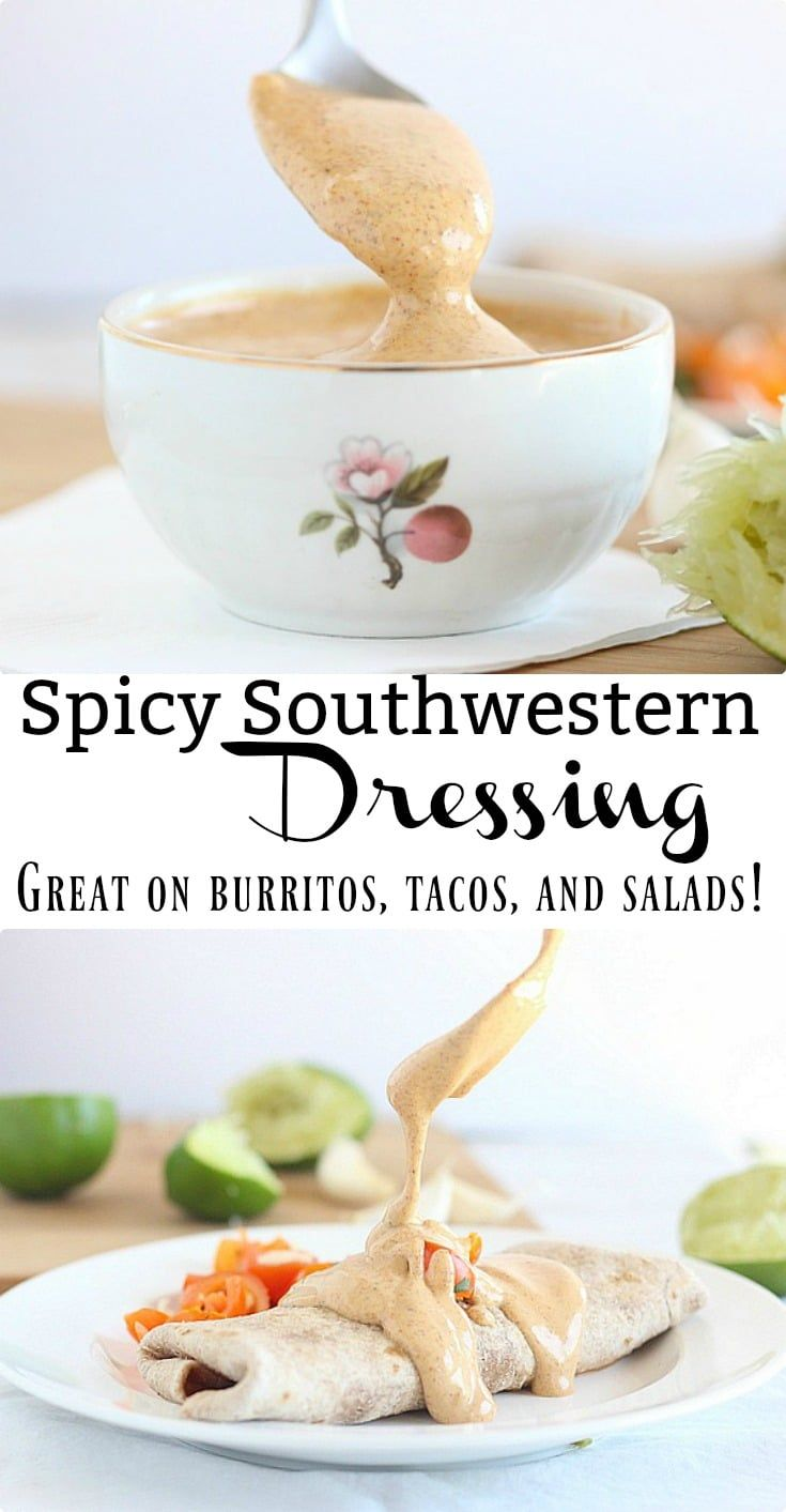 A Great Dressing For Salads Tacos Burritos Quesadillas Or Anything With A Me Sour Cream Salad Dressing Salad Dressing Recipes Homemade Mexican Food Recipes