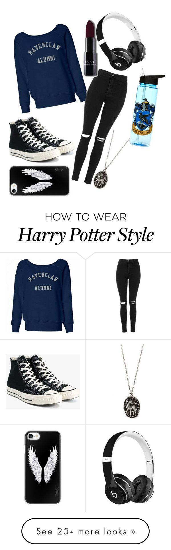 """""""untitled  #18"""" by luna-e on Polyvore featuring Beats by Dr. Dre, Topshop, Converse and Casetify"""