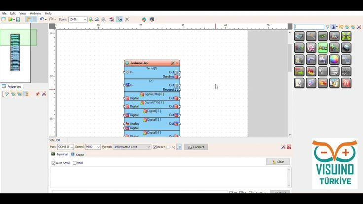 """And another cool Arduino and Visuino Video Tutorial """"Use of Thermal Printer with VISUINO Part-10 Serial Port"""" (VİSUİNO Bölüm-10 Seri Port ile Termal Yazıcı Kullanımı) in Turkish (By Visuino Turkey) :-) #Visuino #Arduino"""