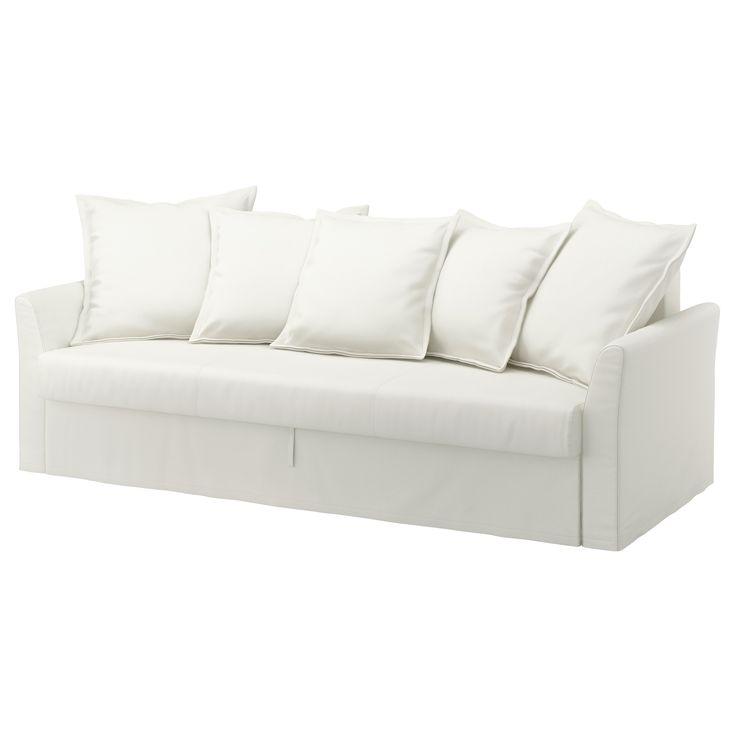 Ikea holmsund divano letto a 3 posti ransta bianco for Divano holmsund