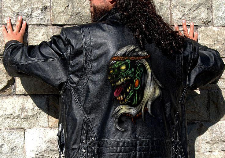 diseño especializado en chaqueta para hombre  #morfok
