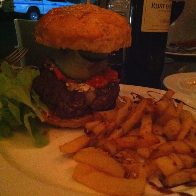 Burgers at Dukes. Nuffsaid