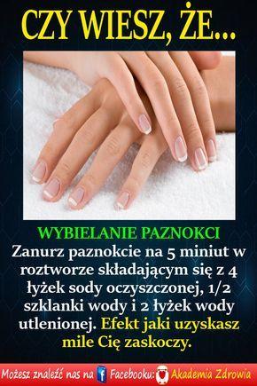 Wybielanie paznokci - Zdrowe poradniki