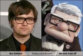 lol. Ben Gibbard/ Up.