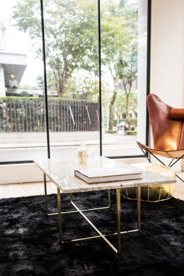 Ninety Table 120x60 cm Marmor White Carrara Soffbord   OX Denmarq   Länna Möbler   Handla online