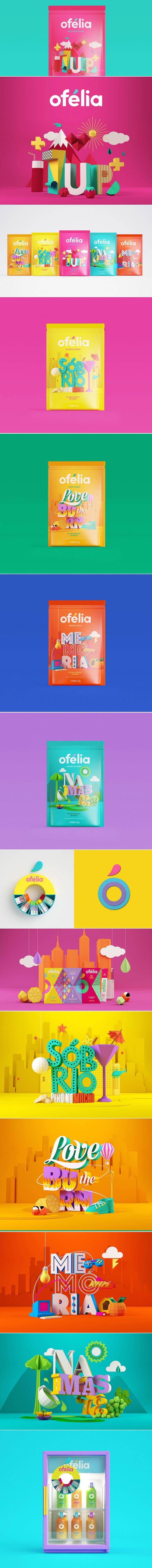 Ofélia — The Dieline - Branding & Packaging Design