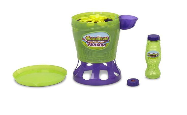 Bubble Blower Machine Kids Party Toy Gazillion Tornado Blowing Bubbles Games #Gazillion
