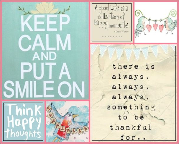Keep Calm And Put A Smile On Collage