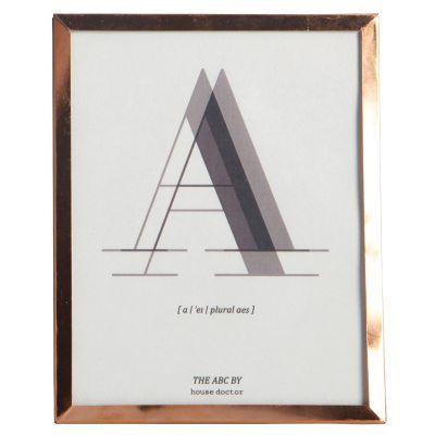 Alfabet A tavla – House Doctor – Köp online på Rum21.se