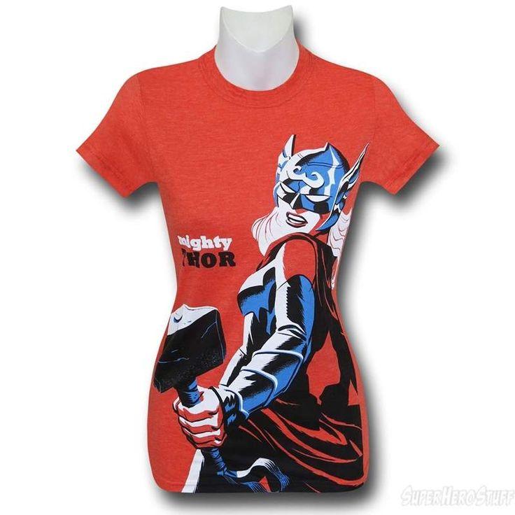 Mighty Thor Orange Women's T-Shirt
