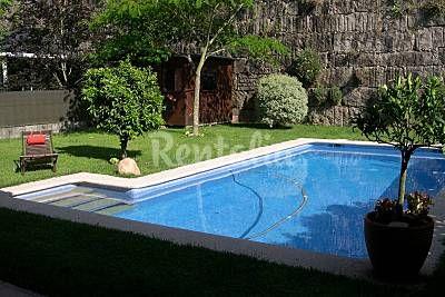 Casa en alquiler a 6 km de la playa. Gondomar (san Benito P.) (Gondomar - Pontevedra). Publicado en Rentalia ref.163022. Contacto directo con el propietario.