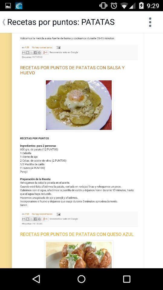 Patatas en salsa
