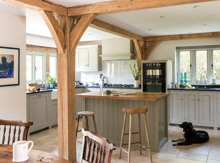 Border oak - open plan kitchen space