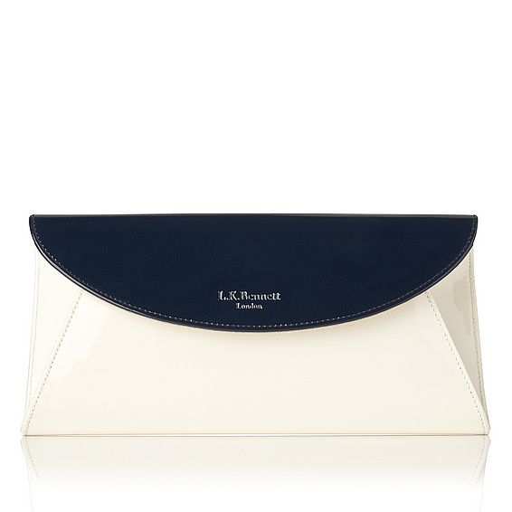 Flo Patent Leather Clutch - L.K. Bennett