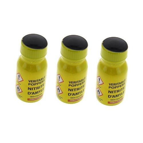 Poppers véritable au nitrite d'amyle 13 ml - Lot de 3 - Articles érotiques/Poppers Lots de 3 - Maxim'Hom