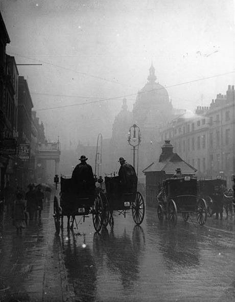 June 1st 1903, 1st day of summer. #oldlondon