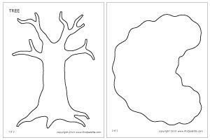 Tree template 1