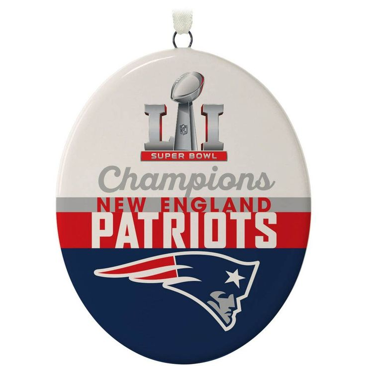 Hallmark New England Patriots Super Bowl LI Commemorative Ornament at The Paper Store