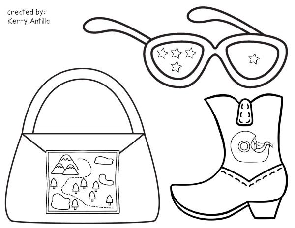 kevin henkes characters coloring pages - photo#15