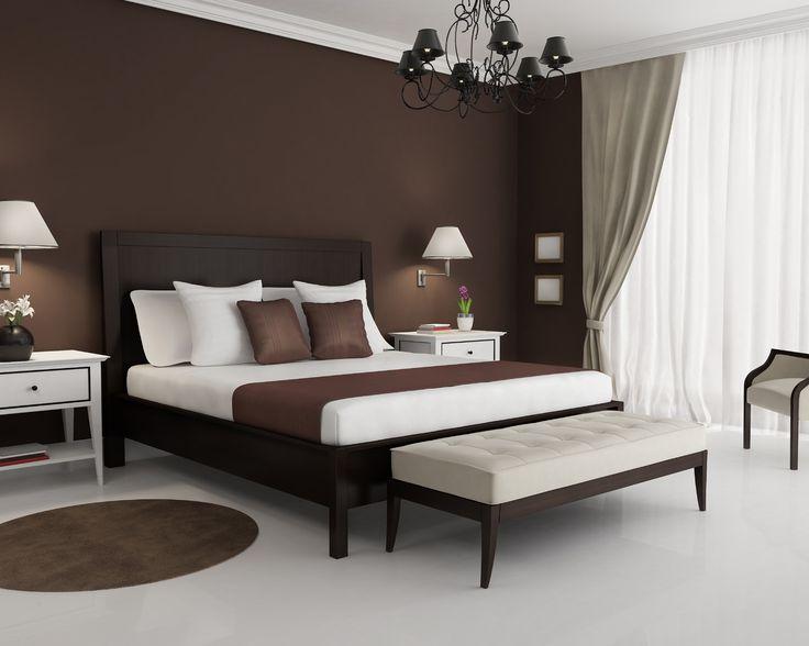 белый, коричневый, 3d, стиль, спальня, дизайн, интерьер обои для рабочего стола 1280 x 1024