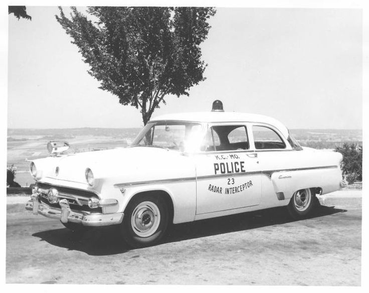 ◆Kansas City, MO PD 1954 Ford Customline◆