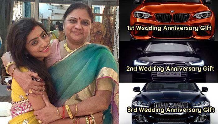 बालिका वधू की इस एेक्ट्रेस को सास ने भेंट की कई महंगी विदेशी कारें ( Neha Marda Mother-In-Law Gifted her Luxury Cars )