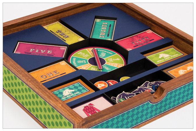 Run for the Roses board game - Beth Shirrell