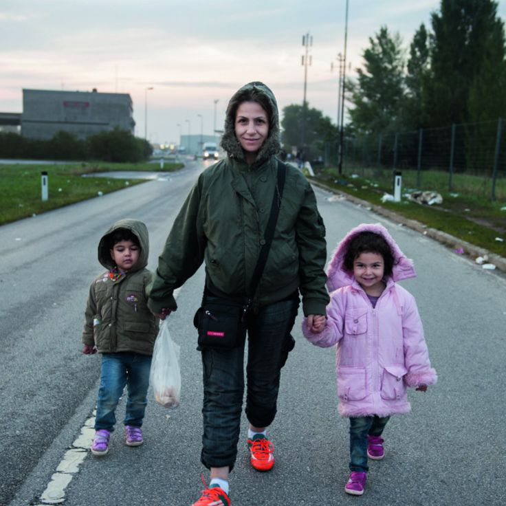 What drives a woman to leave her home and country in the dead of night and become a refugee? Corinne Redfern travelled from Greece to Germany with pregnant Aysha and her two young children to find out why she left Syria – and what the future holds for her