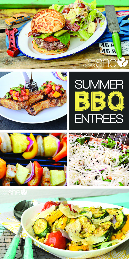Backyard BBQ Recipes | How Does She...
