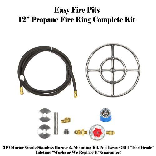 Convert Your Wood Fire Pit To Propane Diy Propane 12