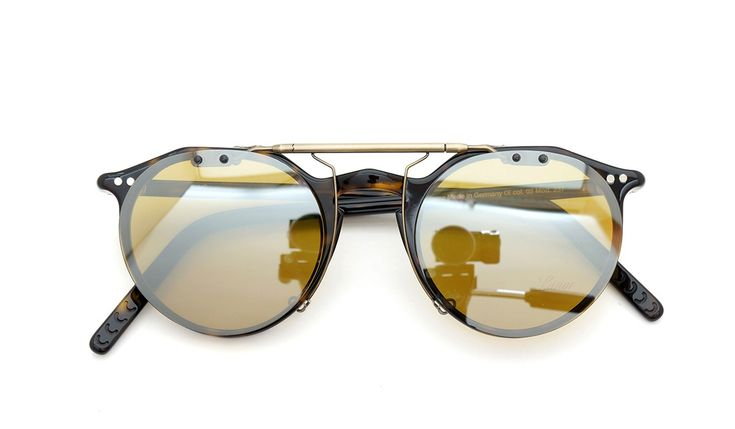 Lunor A5 mod.237 col.02 clip-on SDY/ANG | clip-on mirror-sunglass by PonMegane