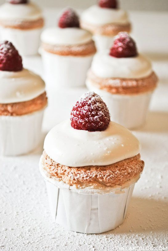 Angel food cupcakes, Snow angels and Angel on Pinterest