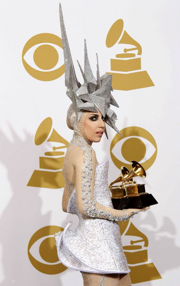 Lady Gaga in all her look-at-me glory. It's sad when an image trumps substance. Her brand of pop music relies too much on a visual aesthetic and not enough on making music that deviates from a traditional pop verse-chorus-verse formula. Don't try to convince me her look makes up for her shitty catalog.