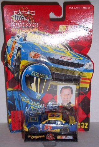 "1999 - Racing Champions - NASCAR - ""The Originals"" - Kenny Wallace - No. 55 - Monte Carlo - 1:64 Scale Die Cast Collectible by Atlas. $2.99. Winston Cup. Kenny Wallace. NASCAR. 1999 - Racing Champions - NASCAR - ""The Originals"" - Kenny Wallace - No. 55 - Monte Carlo - 1:64 Scale Die Cast Collectible"