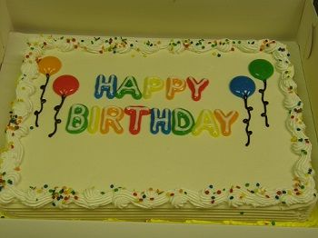 Birthday Bubble Sheet Cake DQ Dairy Queen Cake at Park Place St