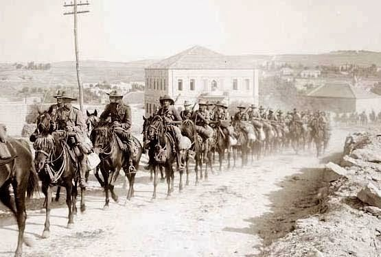 In fact on the 31st October 1917, the Australian Light Horse and New Zealand Mounted Rifles were engaged in a battle that was the ANZACs' greatest charge ...
