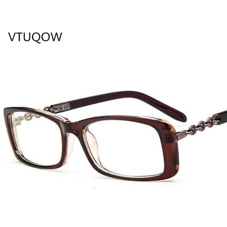 VTUQOW Fashion Brand Square Glasses Eyeglasses Women Spectacles Frame for Female Optical Retro Eye Glasses  Frames Eyewear 2017 #Affiliate